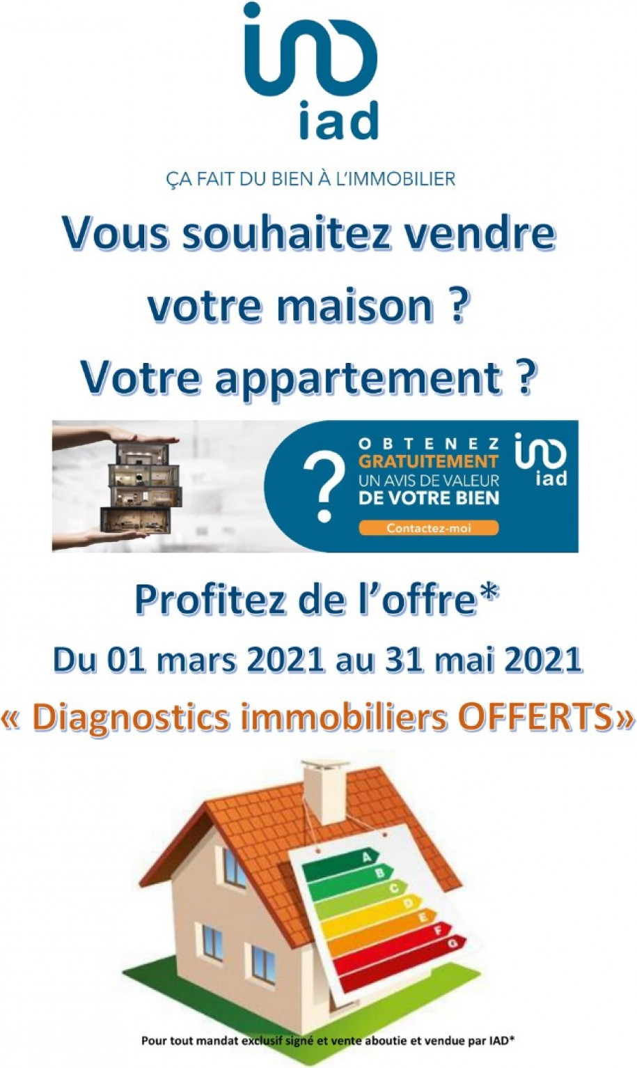 Diagnostics Immobiliers offerts