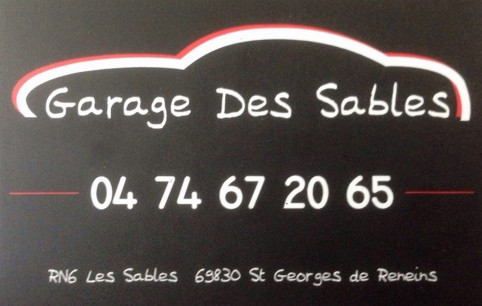 Garage des sables garagiste saint georges de reneins for Garage ad saint georges de reneins